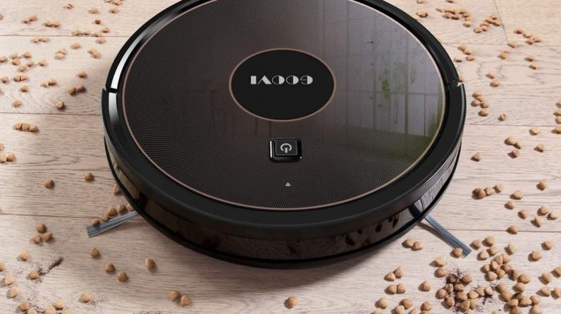 GOOVI 1600PA Robotic Vacuum Cleaner This cheap robot vacuum can be your spring cleaning helper for just $110