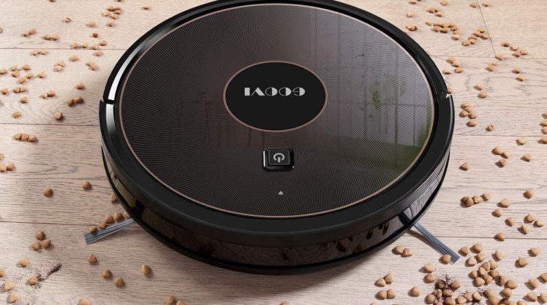 GOOVI 1600PA Robotic Vacuum Cleaner Amazon has a self-charging robot vacuum for just $110, today only