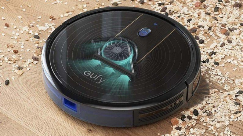 Eufy [BoostIQ] RoboVac 15C Clean up around the house with $100 off the Eufy RoboVac 15C robot vacuum