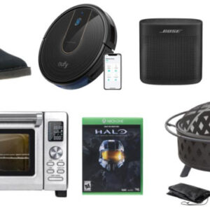 Eufy [BoostIQ] RoboVac 15C Daily Deals: Fire Pit Sets, Noise Cancelling Headphones, Bluetooth Speakers, Allen Edmonds Sale And More!