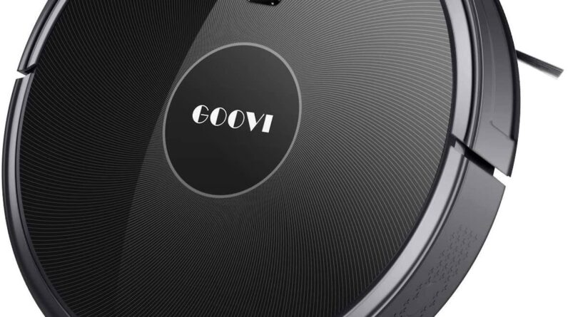 GOOVI 1600PA Robotic Vacuum Cleaner Robot Vacuum, GOOVI 1600PA Robotic Vacuum Cleaner with Self-Charging [$152.98 + Free Shipping] $152.97